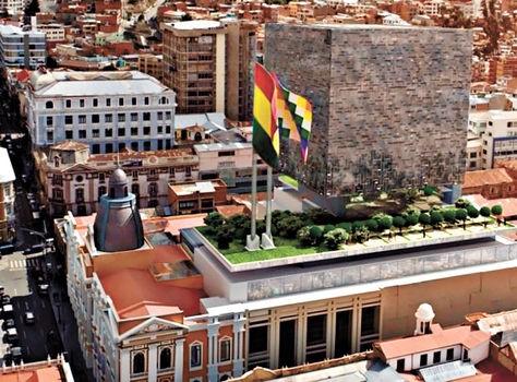 Edificio Asamblea Plurinacional de Bolivia