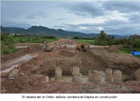 RUBAU - INUNDACONES SAIPINA. RUBAU BOLIVIA