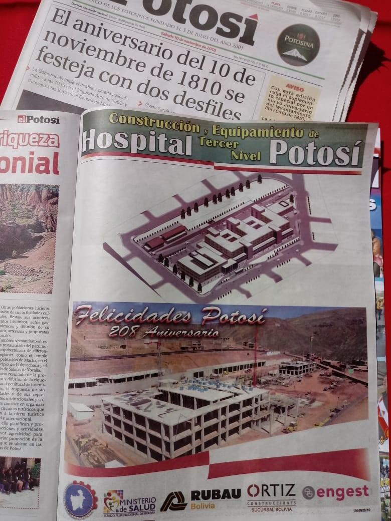 RUBAU. HOSPITAL POTOSI