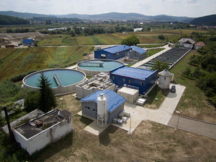 Planta potabilizadora en Beclean, Bistrita, Rumanía. Diseño y construcción de AREMA.